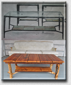 SPIRIT of the WEST, Log Furniture - Transformed Into Lasting Functional Art - Beautiful Rustic Log Furniture